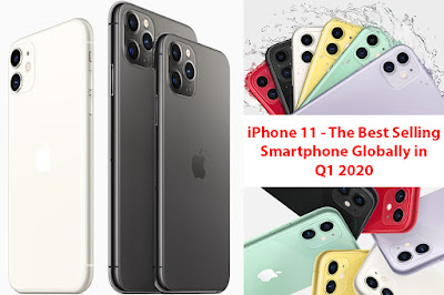 iPhone 11 - The Best Selling Smartphone Globally in Q1 2020
