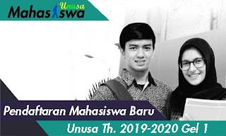 jadwal pendaftaran mahasiswa baru unusa gelombang 1 2019