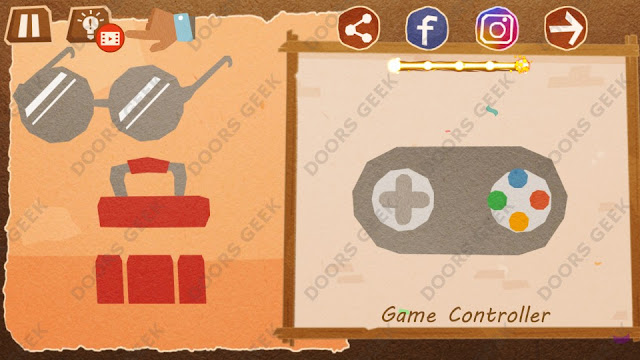 Chigiri: Paper Puzzle Apprentice Level 30 (Game Controller) Solution, Walkthrough, Cheats