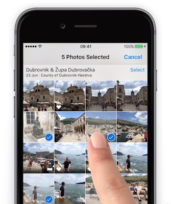 protect a special photo album on iPhone