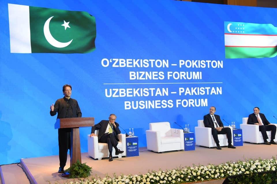 Prime Minister Imran Khan inaugurated the Uzbekistan-Pakistan Business Forum.