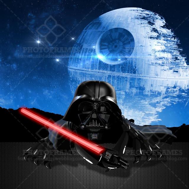 Crab Vader - cangrejo con disfraz de Darth Vader con fondo transparente.