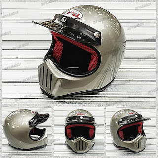Helm Cakil Bell Silver