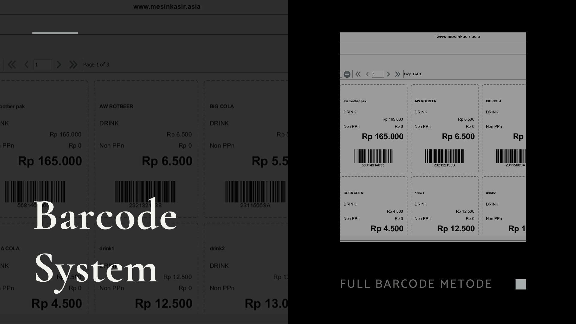 mesin kasir barcode