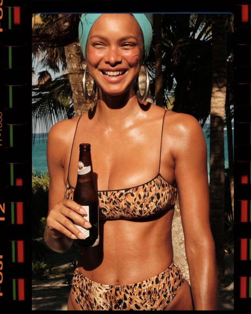 Tropic of C Summer Swim Campaign 2021 featuring Lais Ribeiro