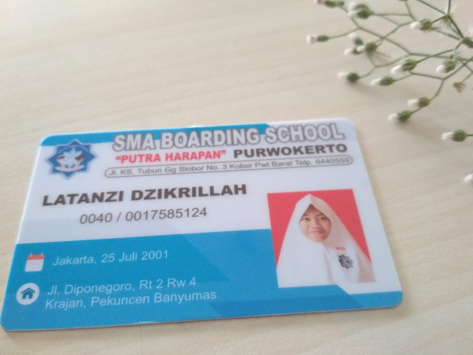 KARTU PELAJAR / MEMBER CARD - Percetakan Online Cepat dan ...