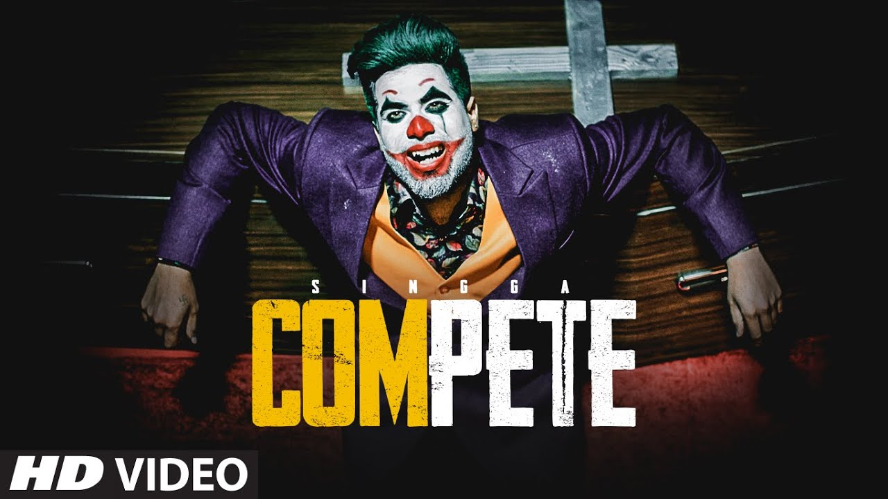 Compete Lyrics in Hindi - Singga