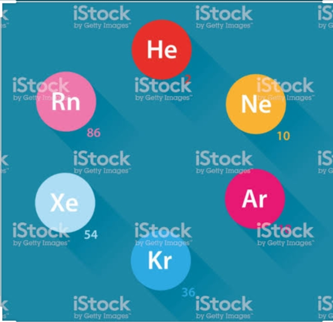 Use of noble gases