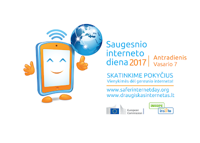 Saugesnio interneto dienos logotipas