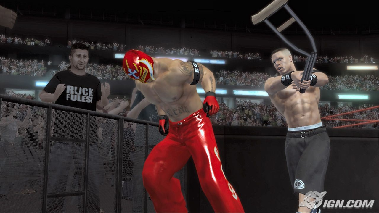 Smackdown vs raw 2007 game for pc.