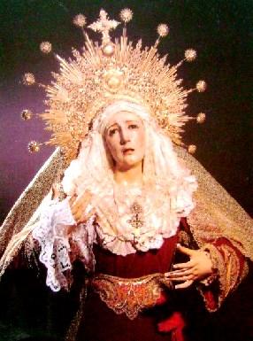 Imagen de la Virgen de la Candelaria en México