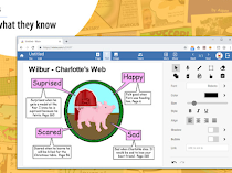 Wixie helps students display what they have learned through writing, art, video, and audio