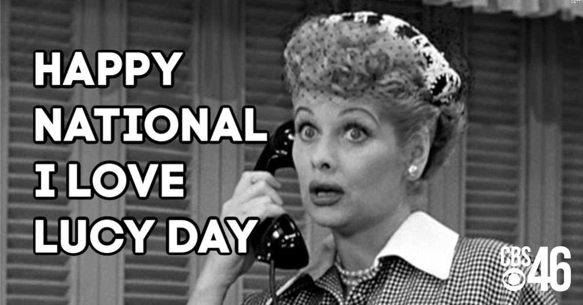 National I Love Lucy Day Wishes pics free download