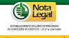 INDICAÇÃO DO NOTA LEGAL COMEÇA HOJE (04/01)