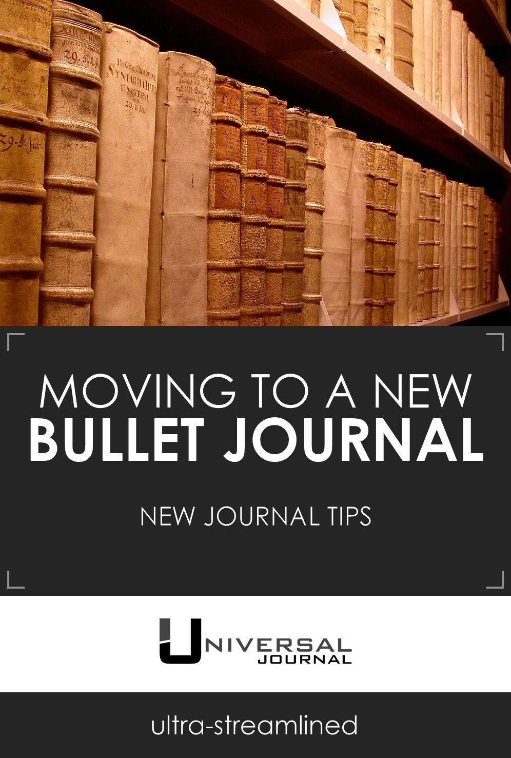 bullet journal tips moving to new notebook