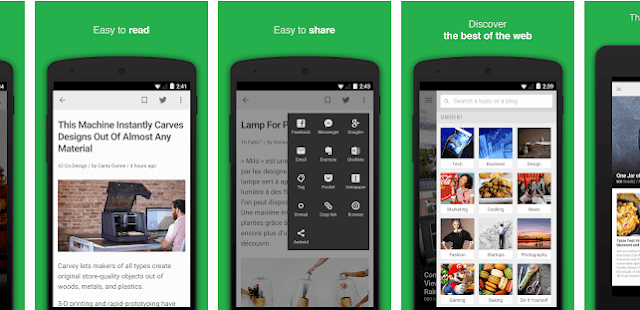 feedly,seo apps for android, digital marketing apps for android, social medial marketing apps