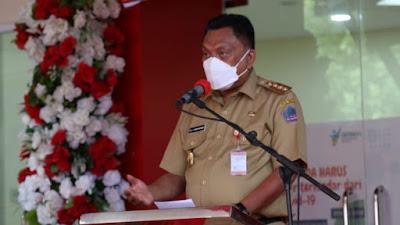 Resmikan RS Covid-19, Gubernur Dondokambey Harap Masyarakat Patuhi Prokes