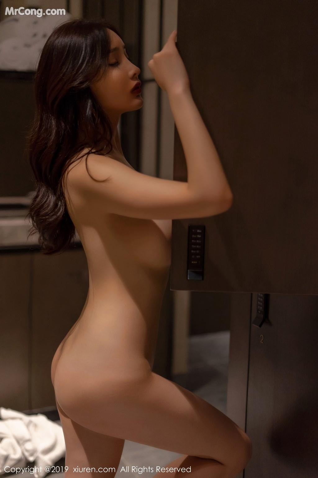 Image XIUREN-No.1331-Tu-Fei-Yuan-Ai-Cuo-Qiong-MrCong.com-001 in post XIUREN No.1331: 奶瓶土肥圆矮挫丑黑穷 (48 ảnh)