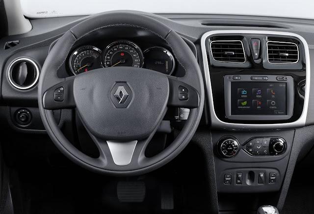 Novo Renault Sandero - interior