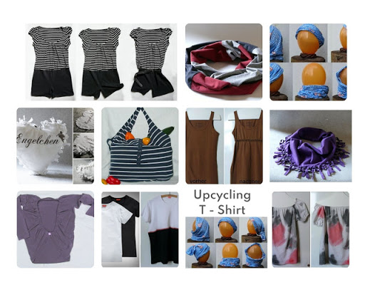Sommer DIY - Upcycling Ideen mit T - Shirts