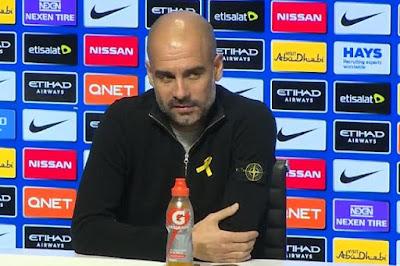 جوارديولا يوضح موقف لاعبيه في مواجهة استون فيلا غدا