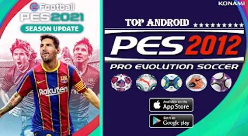 PES 2012 MOD PES 2021 V1.0 LITE Android Offline 200MB