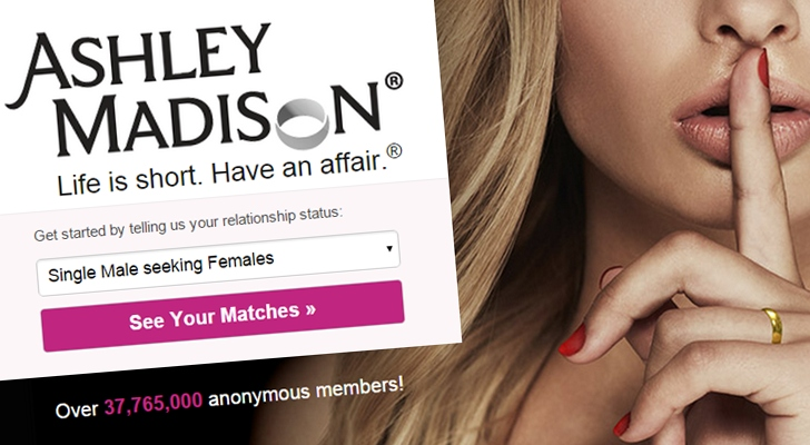 Oops! Adult Dating Website Ashley Madison Hacked; 37 Million Accounts Affected
