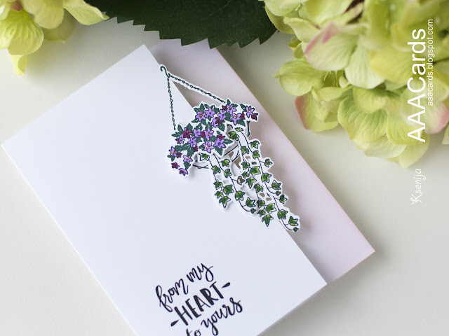 Clean And Simple Card with Die Cutting on The Edge