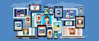 Redes sociales de BloG SEO Web online, comunidades y agregadores en línea
