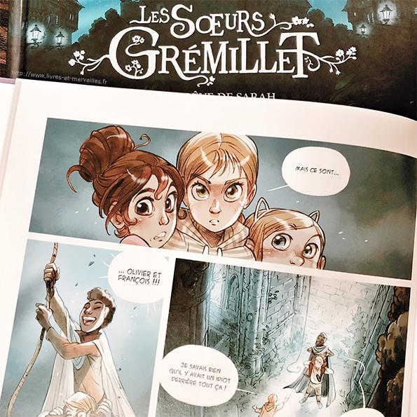Bd jeunesse : Les sœurs Grémillet - Tome 2 - Les Amours de Cassiopée