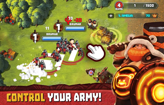tiny armies online battles mod apk indir