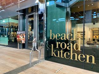 Restaurant entrance to Beach Road Kitchen, JW Marriott Singapore Beach Road, 2021