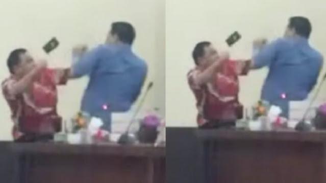 Ya Ampun! Gara-gara Dana CSR, Dua Anggota DPRD dari PDIP dan PKPI Adu Jotos