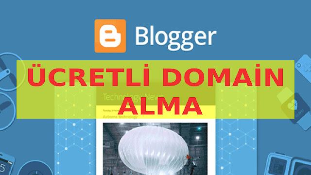 bloggera domain almak