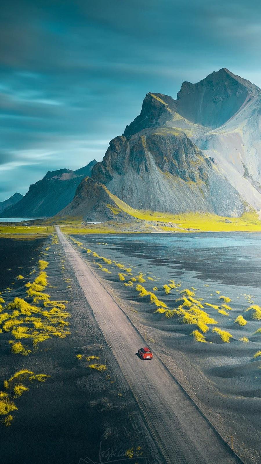 Long road art picture