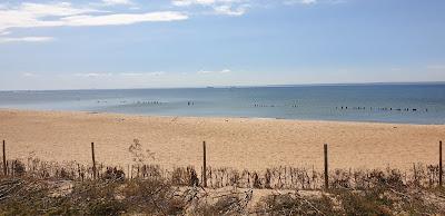 Hel cypel Mierzei Helskiej morze Bałtyckie