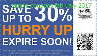 Coach coupons february