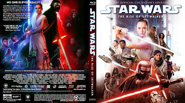 Star Wars: Episode IX - The Rise of Skywalke Bluray Cover