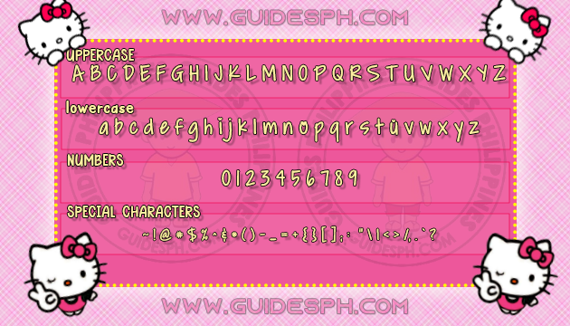 Mobile Font: Gracia Font TTF, ITZ, and APK Format