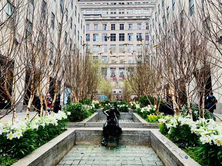 Rockefeller Center is pretty in every season - New York City | Ms. Toody Goo Shoes