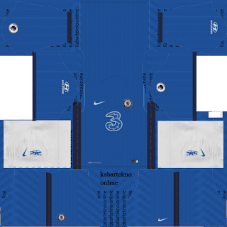 Chelsea FC New Kit 20/21, DLS 2019 Kit