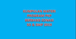 Materi PKP SD dan SMP