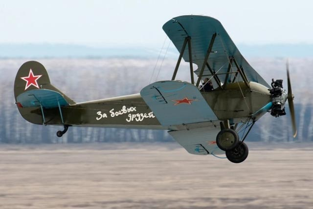 Restored Polikarpov Po-2 of World War II worldwartwo.filminspector.com