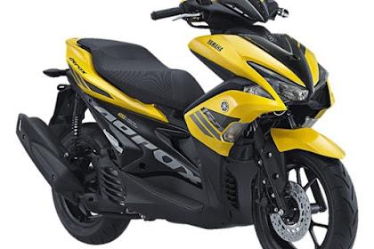 Yamaha Aerox 155 VVA Resmi dirilis