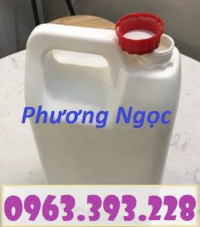 Can nhựa đựng hóa chất 5 Lít, can nhựa HDPE, can nhựa 5L 1f55c26c927869263069
