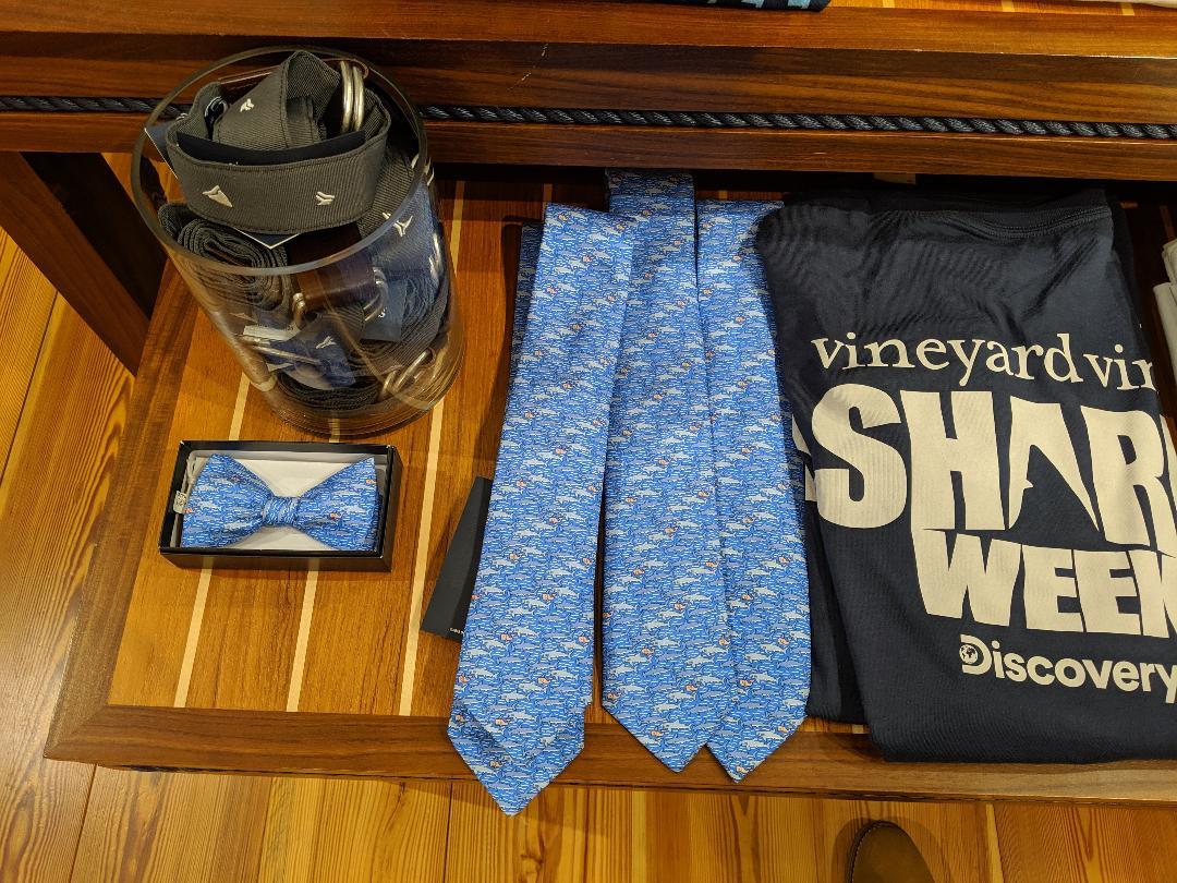 Rockville Nights: Shark Week merchandise arrives at Vineyard