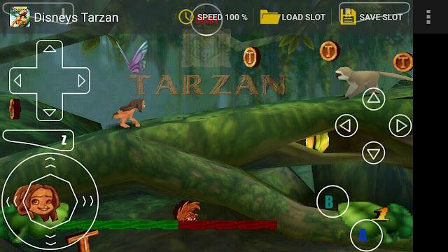 تحميل لعبة طرزان Tarzan القديمة الاصلية للاندرويد