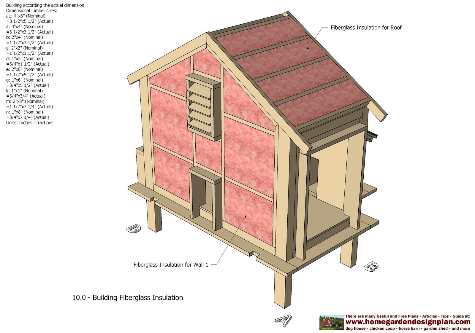 S110 Chicken Coop Plans Construction Chicken Coop Design How To Build ...