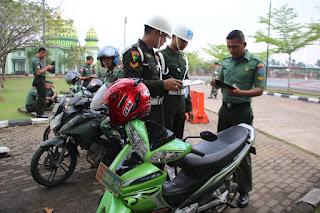 Kodam XII/Tpr Gelar Pemeriksaan Kendaraan Dinas