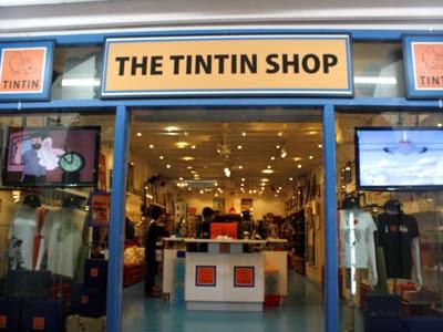 The Tintin Shop Singapore Untuk Pengalaman Para Fans